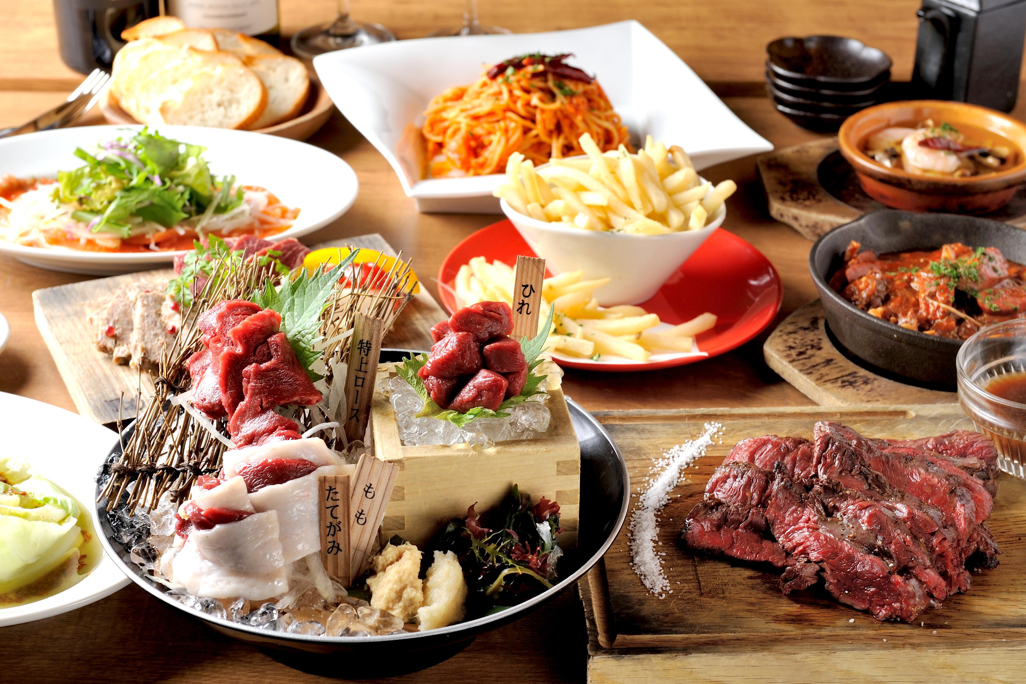 馬肉バル跳ね馬 三田店 12月は日曜日も休まず営業致します!